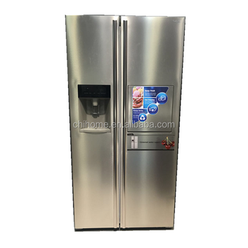 Big Capacity BCD 598 Side By Side Refrigerator No Frost Fridge High Quality  With Cheap