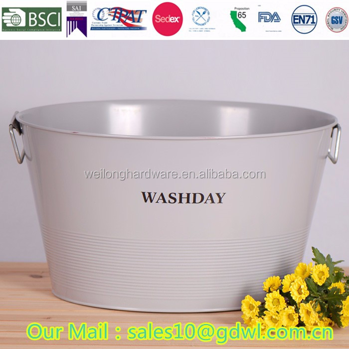 Wholesale Easter Gift Bucket Small Colored Metal Bucket with Handle