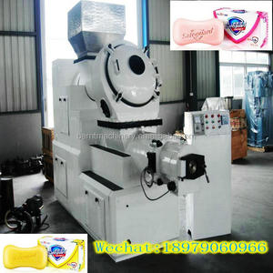 toilet soap making production line,stamping machine, toilet plodder laundry mini bar soap making machine bar