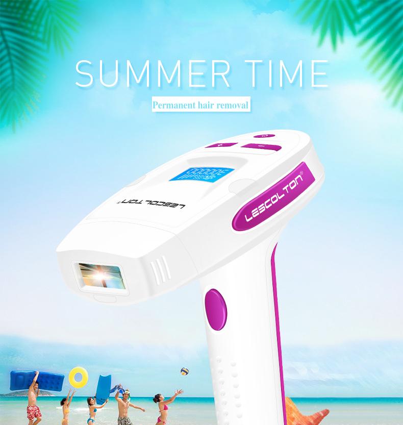 Professional IPL Dauerhafte Haar Epilierer Hause Pulsed Licht LCD Laser Haar Entfernung Maschine