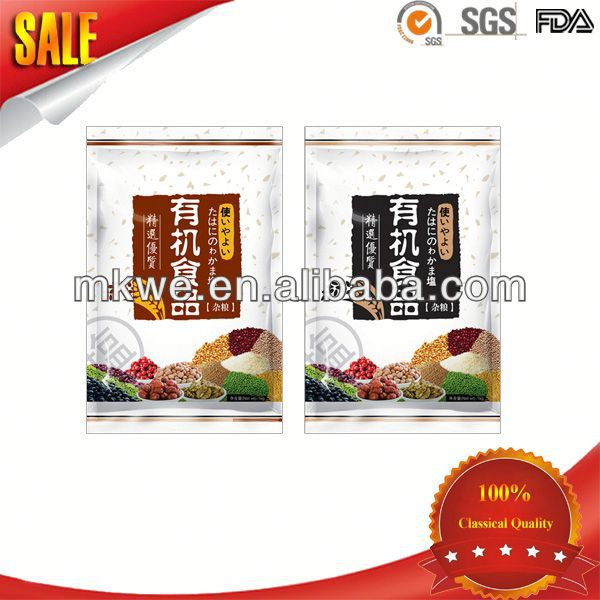 Food Grade Cereal Bar Packaging Pouches