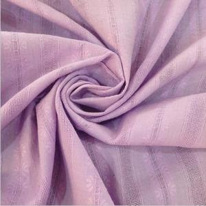100% cotton jacquard cloth,Full cotton rob fabric