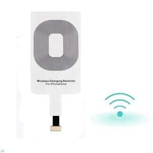 Hot sale Qi universal wireless charger receiver for iphone 5/5s/5c/6/6 plus,wireless charging card