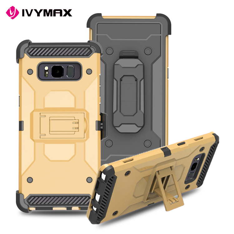 New design heavy duty 3 in 1 for samsung galaxy note 8 case,for galaxy note 8 case