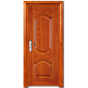 HS-1858 entry exterior steel doors skin for sale
