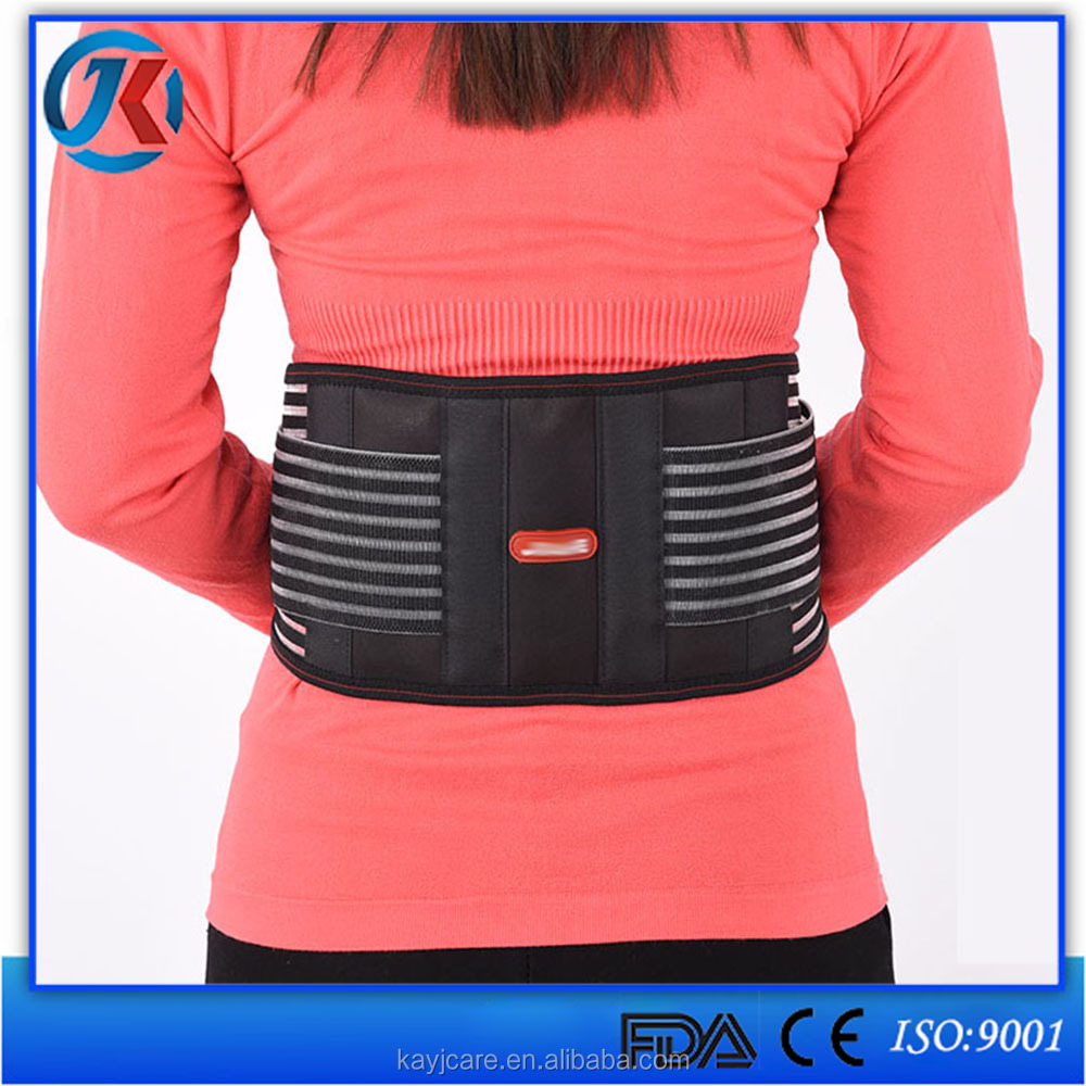 New products 2016 high quality lumbar support waist belt protection
