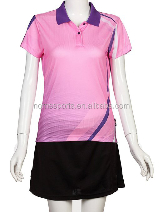2017 Norns team wear custom women badminton jersey