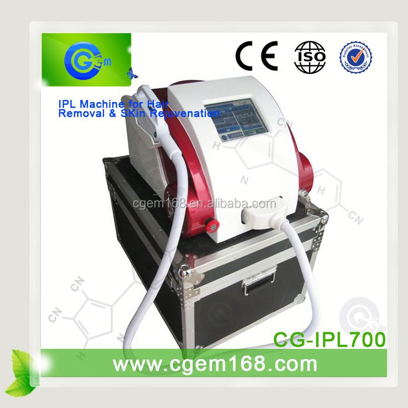 CG-IPL700 money maker for salon,spa and beauty center,hot!!! home use ipl skin rejuvenation for skin tighten