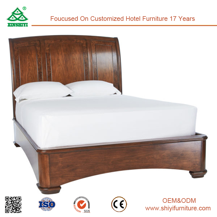 Malaysia Style Antique Hand Queen Bed Frame Carved Solid Wood Bed ...