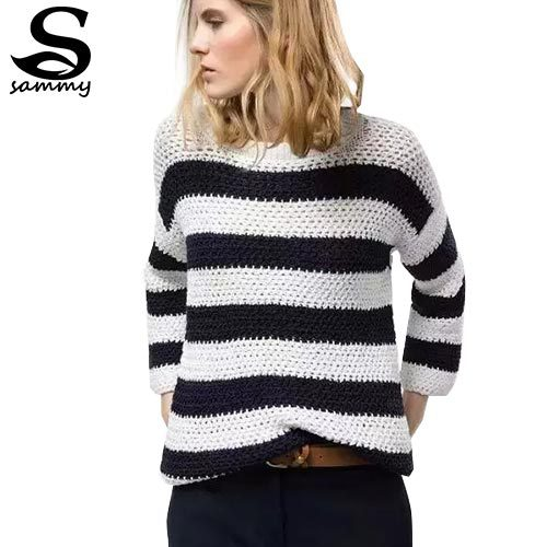 Cheap Red And White Striped Sweater Women Find Red And White