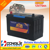 Super Power Extra Long Life 12V 70Ah Car Battery N70