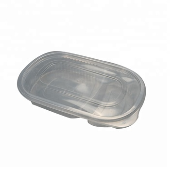 Custom Disposable Take Away Plastic Salad Container Insulated Food Container