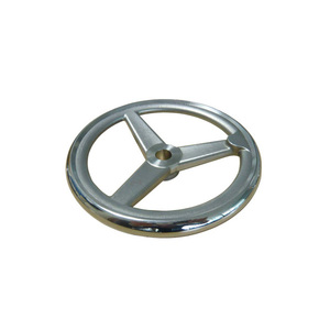 high quality precision casting stainless steel casting hand wheel