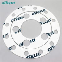 High temperature teflon spacer differ type gasket
