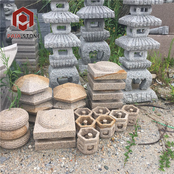 Outdoor Decoration Garden Pagoda Japanese Stone Lantern