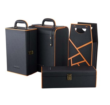 Luxury Leather Wine Gift Bag All Design Collect