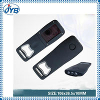 customized solar flashlight key chain for sales