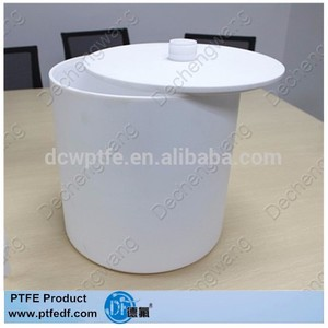 Plastic tank PTFE tank for chemical with good chemical properties