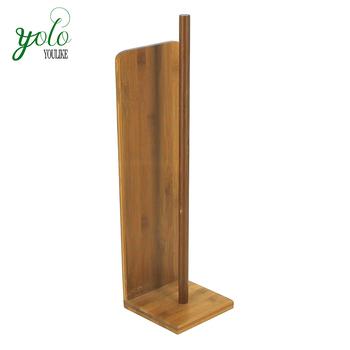 Bambus Freistehende Toilettenpapier Reserve Rolle Lagerung Halter