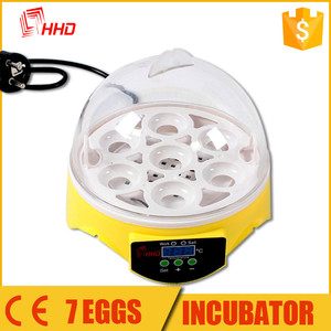 Good price Mini 7 pcs incubator for egg in japan with high quality YZ9-7
