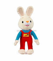 Customized Harry the Bunny Soft Plush Toy Stuffed Animals for the Perfect Baby Shower Gift Baby First Year Plush Toys Infant Tod