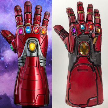 Cool New Iron Man Nano Gauntlet Thanos Infinity Gauntlet Armor Tony Stark  Cosplay Gloves Props PVC LED Light, View PVC Gauntlet, palapala Product