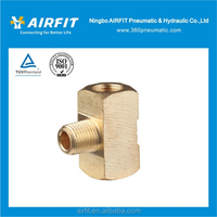 brass male branch tee / brass pipe fitting / copper fitting with factory price