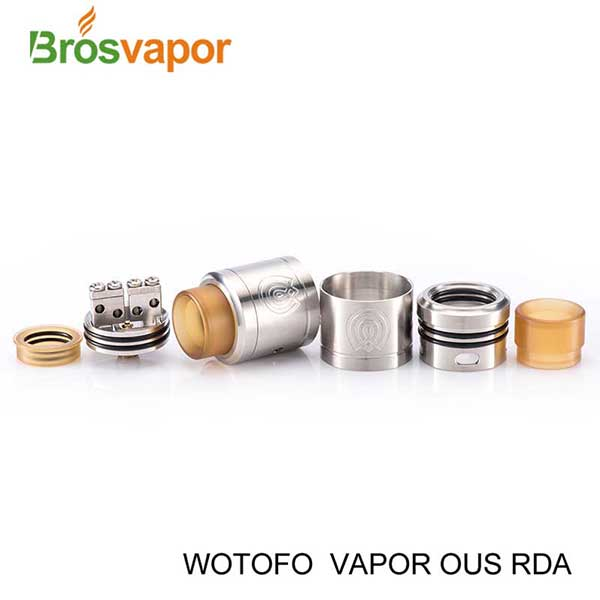 Amazing Newest Vape Atomizer DIY 4 Holes Design Huge Cloud Tank, Wotofo VAPOR OUS RDA Atomizer vs Vandyvape govad RDA