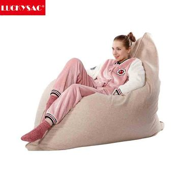 LUCKYSAC Crazy And Comfort Lazy Bean Bag Chair/Sofa Luxury French Furniture