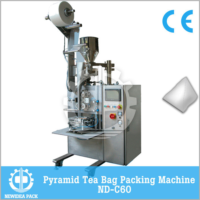 PLA PLE mesh tea infuser packing machine factory price C60