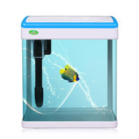 Factory home mini fish 3 in 1 aquarium tank with low price