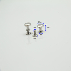 New Products Decorative Metal Snap Button Stud For Handbag