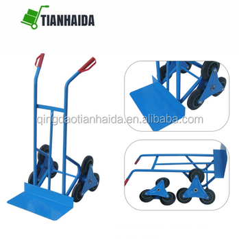 Stair Climbing Trolley 6 Wheels Truck Hand Cart Climb With Wide Toe Plate -  Buy Wide Toe Plate Cart,6 Wheels Climbing Trolley,Wide Toe Plate Trolley