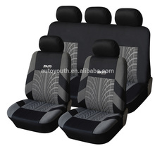ISO9001 Certified leather with fur car seat cover gold supplier