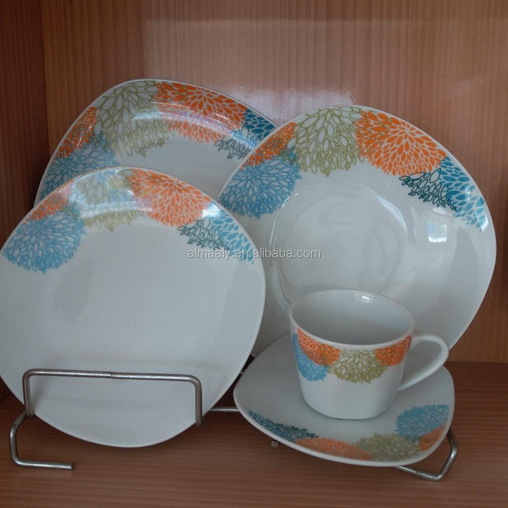 Luxus porzellan geschirr geschirr mit rückkehr geschenk-Essgeschirrset-Produkt ID:60557262423 ...
