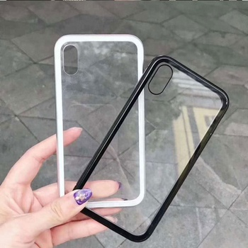 03455eb1aa8 Tempered Glass Magnetic Adsorption Metal Case For Iphone X/7/8/6s/6 ...