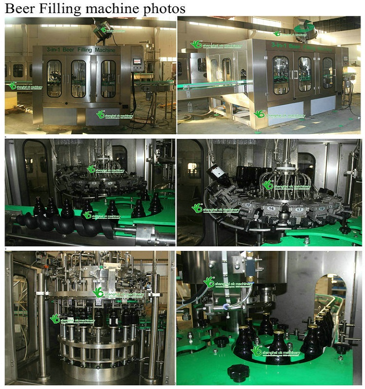 BCGF24-24-8 high efficiency beer filling machinery