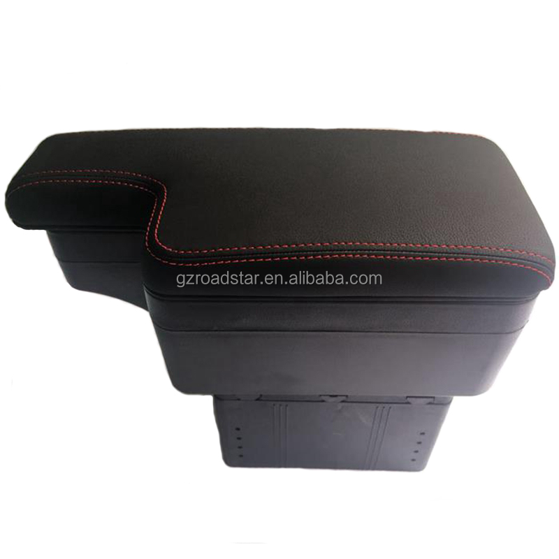 High Quality Universal Luxury Car Armrest with USB Multi Console Box Car Crnter Armrest