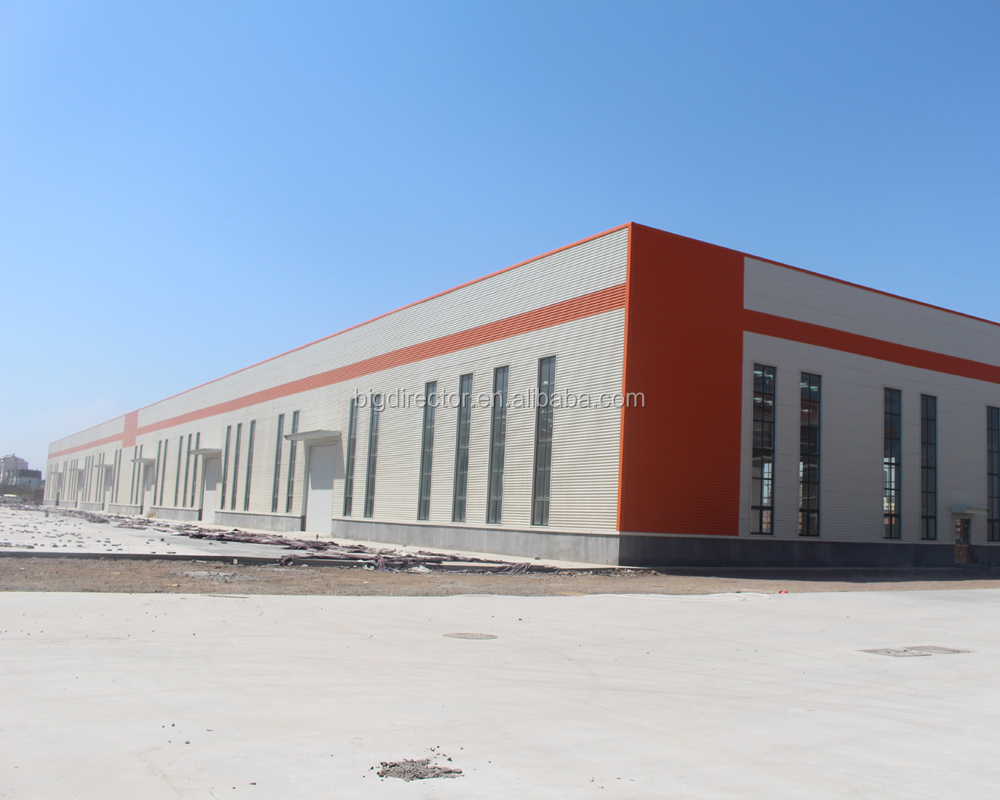 Low Cost Industrial Shed Designs Steel Prefab Warehouse