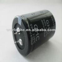 electrolytic capacitor 100v 6800uf snap in type