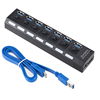 Individual power switches 7 Port USB 3.0 Hub 7 port