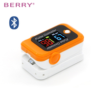Bluetooth Finger Pulse Oximeter connect with your smart phone