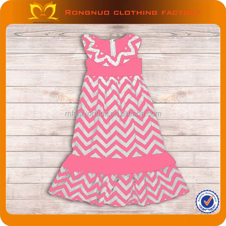 Christening Gowns For Girls 2014 Baby Frock Designs Pink Chevron Sleevess Baby Girls Long Dress