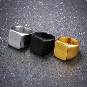Marlary Top Quality Wholesale Jewelry Blank Stainless Steel Ring Man ,Popular Men Titanium Rings Blanks