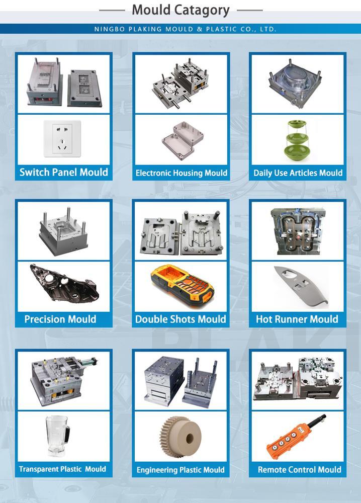 Populaire De Haute Précision En Plastique Moulage Par Injection, Moulage Fabricant Personnaliser, Conception De Moule