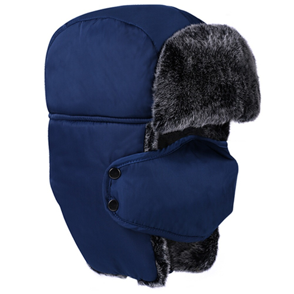 bebccd1cec1 2015 newly arrival fashion ushanka russian hat trapper hat fur cat skiing  winter warm windproof hat