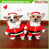 New Christmas Dog Clothes Santa Claus Doggy Costumes with waist belt design