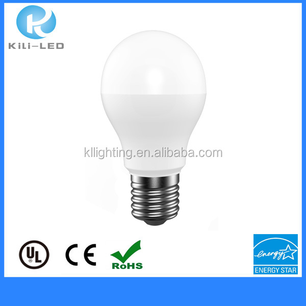 2016 hot selling led edison led bulb E27 socket A60type indoor lamps