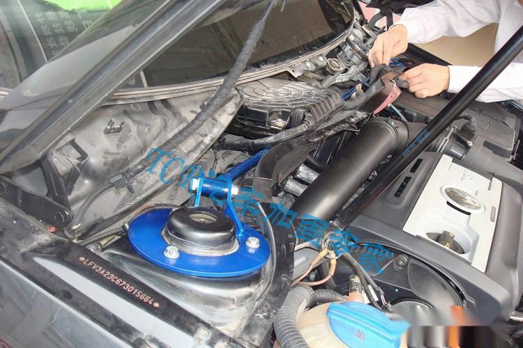 Подвеска перед верхняя панель стержень наклона стержень для Skoda Octavia двигатель двигатель балансировки полюс укрепить тела модифицированные части автомобиля