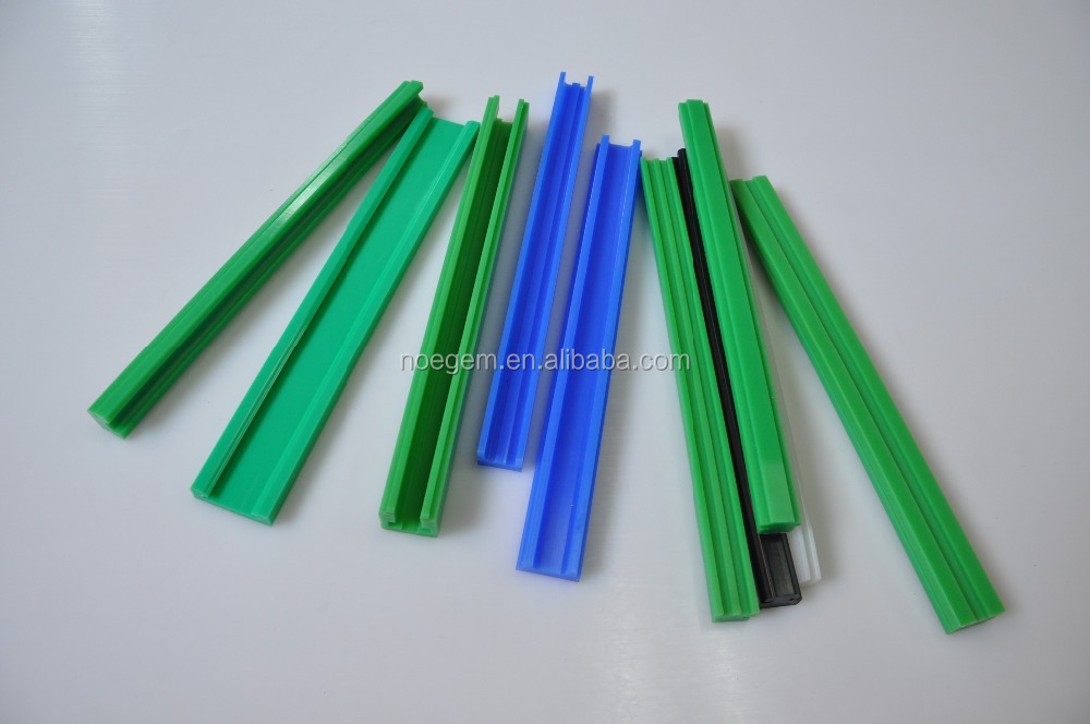 UHMWPE plastic Guide rail /filler strip/guard bar